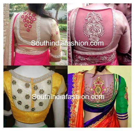 net blouse pattern 2015 net back blouse designs south india fashion