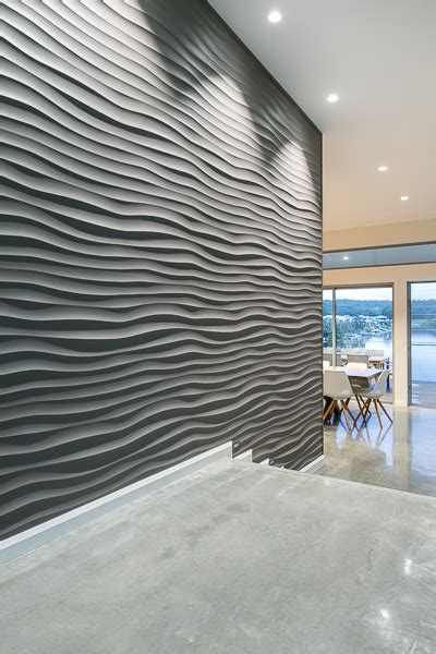 Home Decor Ideas For Walls dunes 3d wall panels