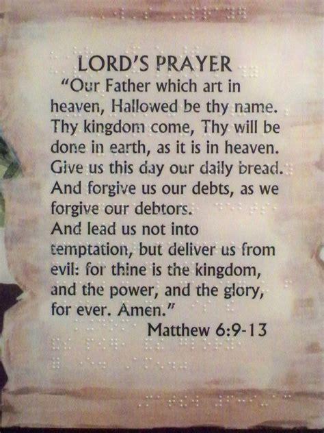 The Lord Prayer the prayer saving prayers