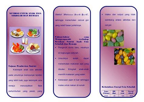 Makanan Anak Usia Sekolah nutrisi anak sekolah remaja