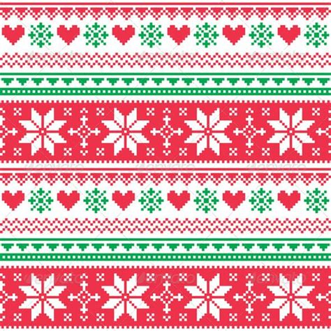 nordic pattern illustrator christmas sweater pattern background graphicriver nordic