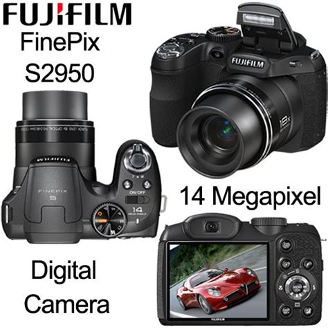 Kamera Prosumer Fujifilm Finepix S2950 compact point shoot fujifilm finepix s2950 digital 14 megapixel was sold for r750 00