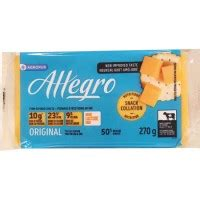 Allegro Clean Detox by Cheese Allegro Lactose Free Light Cheese 9