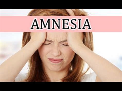la memoria secreta de b01ncohep4 p 233 rdida de memoria amnesia c 243 mo tratar la amnesia youtube
