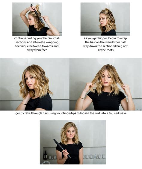 beachy waves with curling wand short hair how to do beachy waves what would karl do