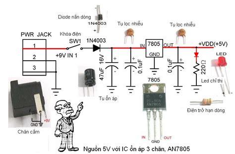 diod on ap bộ chuyển đổi điện dc 12v ra ac 110v dc ac inverter