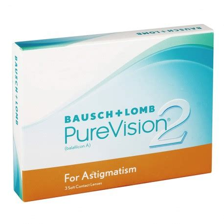the cheapest purevision 2 hd for astigmatism (3 lenses