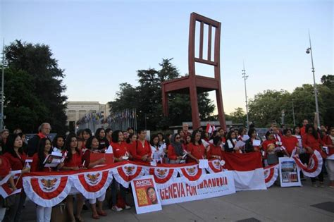 ahok united nation indonesians in switzerland hold solidarity act for ahok