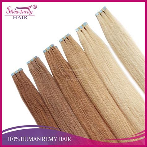 100 remy human hair seamless real hair seamless skin weft invisible hair