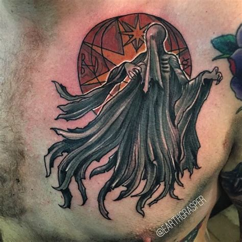 dementor tattoo 27 spectacular harry potter tattoos by earthgrasper tattoodo