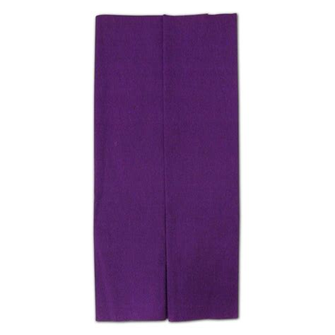 Crepe Paper Folds - purple crepe paper folds from carrier bag shop supplier
