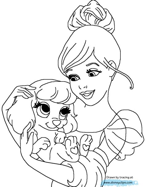 coloring pages princess pets princess palace pets coloring pages coloring home