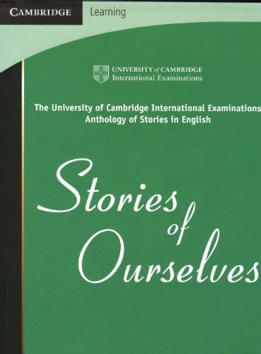 buy special books stories of ourselves the university of cambridge international examinations