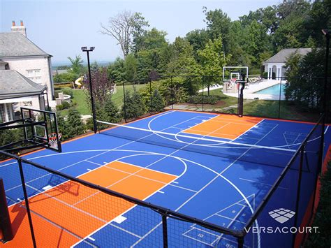 multi sport court photos and images from versacourt