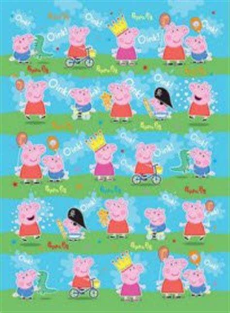 peppa pig gift wrap 2 sheets 2 tags amazon co uk