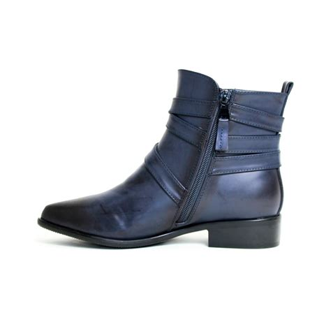 boots blue reneeze lucia 01 womens ankle boots with wrap around