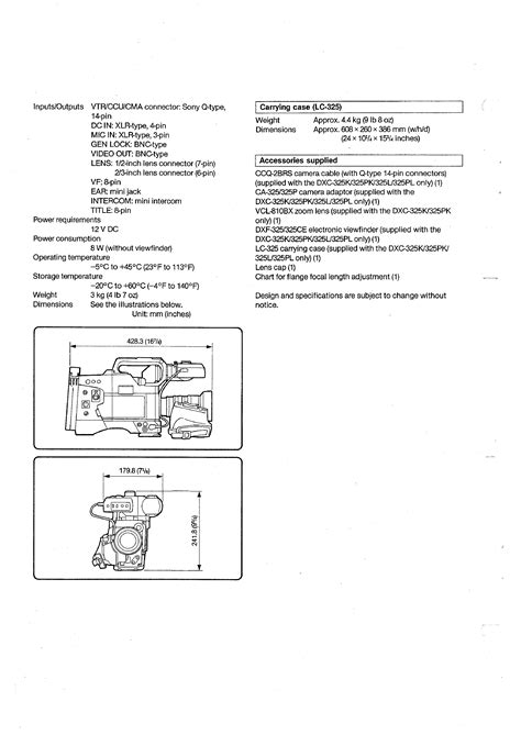 sony vcl 0630s service manual sony vcl 810bx volume 1 service manual immediate download