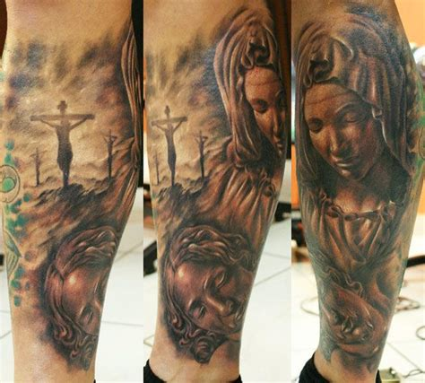 dope cross tattoos by tibor galiger tattooed