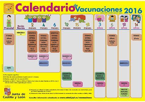 Calendario Vacunal Calendario Vacunal Asociaci 243 N Espa 241 Ola De Pediatr 237 A De