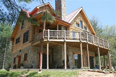 2 Story Log Cabin by 2 Story Cabin Log Home For The Home