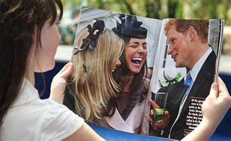 harry and william's anger over hello! pictures of queen at