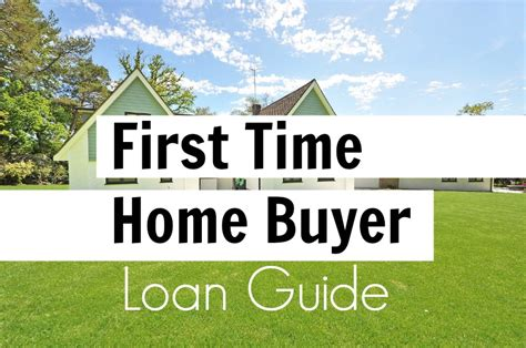 getting a time home buyer loan and low payment