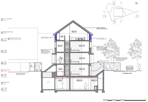 Concrete Home Floor Plans david adjaye to transform quot mole man quot house in london into