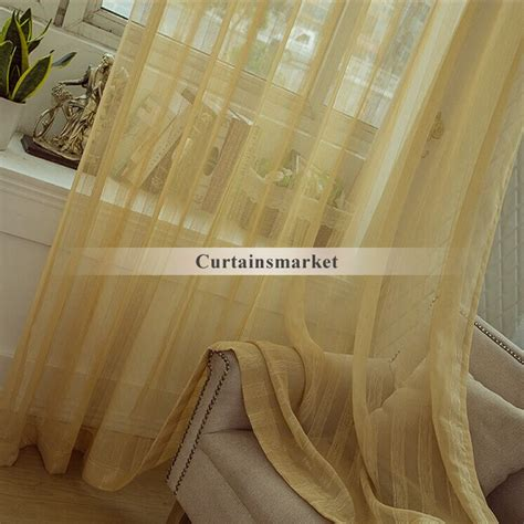 light yellow sheer curtains beautiful lines patterned light yellow striped sheer curtains