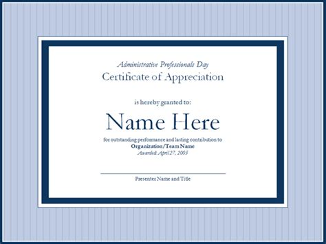 certificate of recognition template joy studio design
