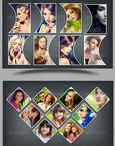 3 photo collage template amazing collage templates in photoshop