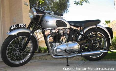 Triumph Motorrad 1950 by 1950 Triumph T100