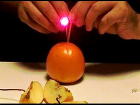 free energy generator fruit powered led light quot free
