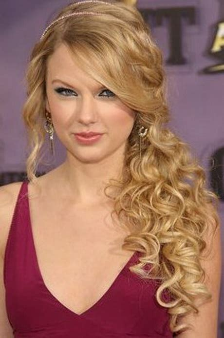 hairstyles side curls curly side hairstyles