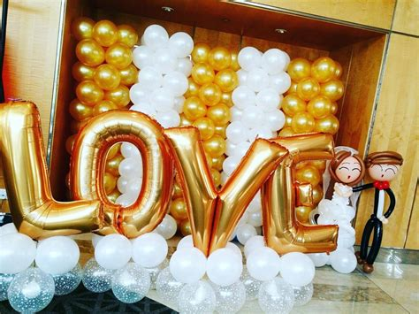 Wedding Backdrop Balloons by Singapore Top Balloon Decorations Balloon Wall Balloon
