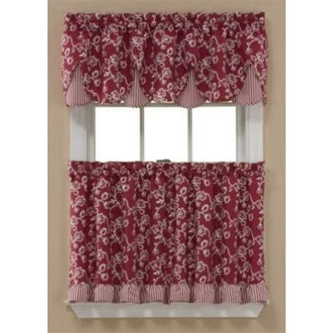 simply window sunflower kitchen curtain tier pair home
