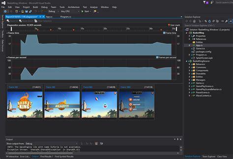 video tutorial visual studio 2015 graphics debugging wave engine games in visual studio 2015