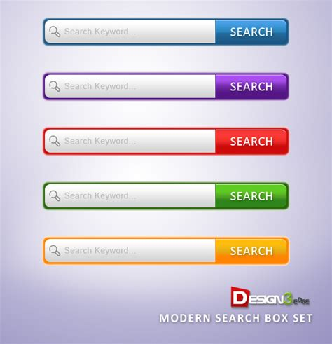 html design search box modern search box set design3edge com