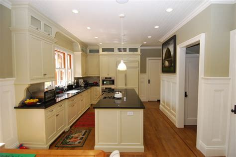 kitchen ceiling paint sheen what finish matte or semi gloss for the beadboard ceiling