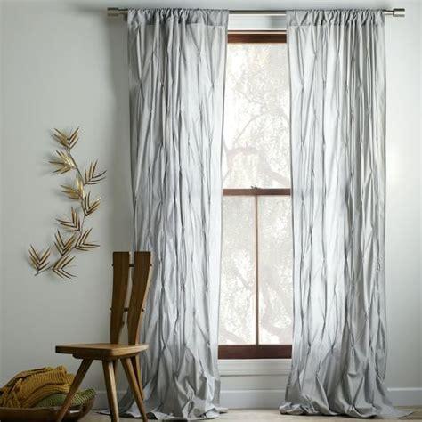 west elm curtains sale pintuck curtain platinum west elm