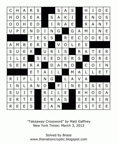 printable diagramless puzzles diagramless crossword puzzles grid