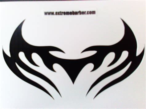 tattoos stencils for men hair design in back of hairstyle 2013