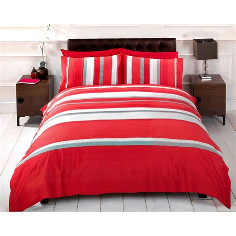 red striped comforter dynamic red duvet cover patterned stripe bedding set with