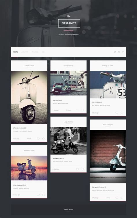 designspiration brochure web design vespa page designspiration web design