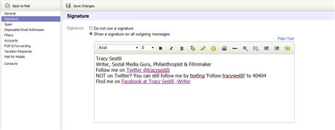 email yahoo signature how to change your yahoo email signature 30