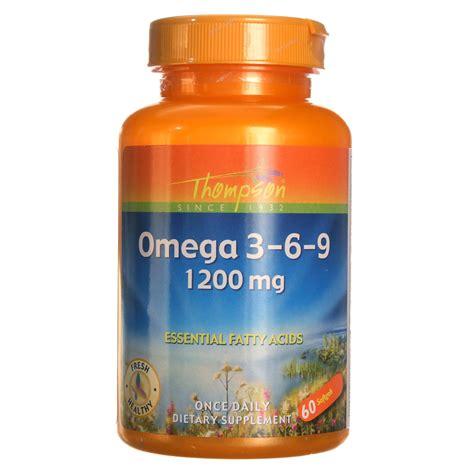 Dijamin Omega 3 6 9 60softgel thompson omega 3 6 9 1 200 mg 60 softgels evitamins