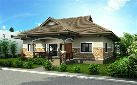 one storey house house design 2015002 is a one storey house design