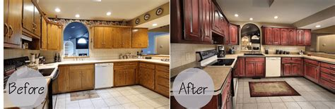 kitchen cabinet refacing before and after photos kitchen cabinets refacing before and after and the cost