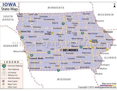 iowa state cus map buy iowa state map