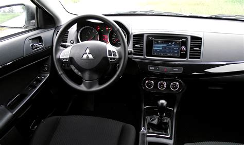 mitsubishi lancer sportback interior 2014 mitsubishi lancer sportback information and photos