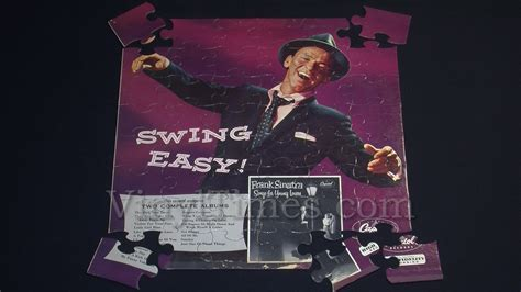 swing easy frank sinatra quot swing easy quot album cover jigsaw puzzle